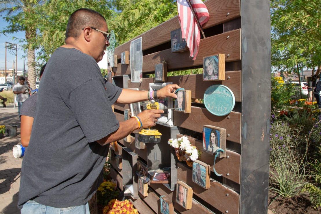 Healing Garden Memorial for October 1 Victims