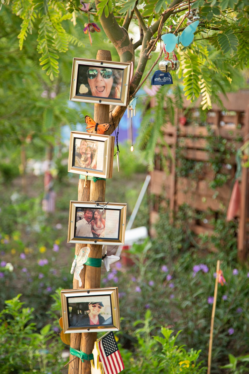 Healing Garden Memorial for October 1 Victims