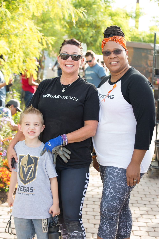 Vegas Strong volunteers