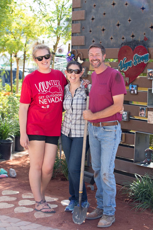 Get Outdoors Nevada volunteers