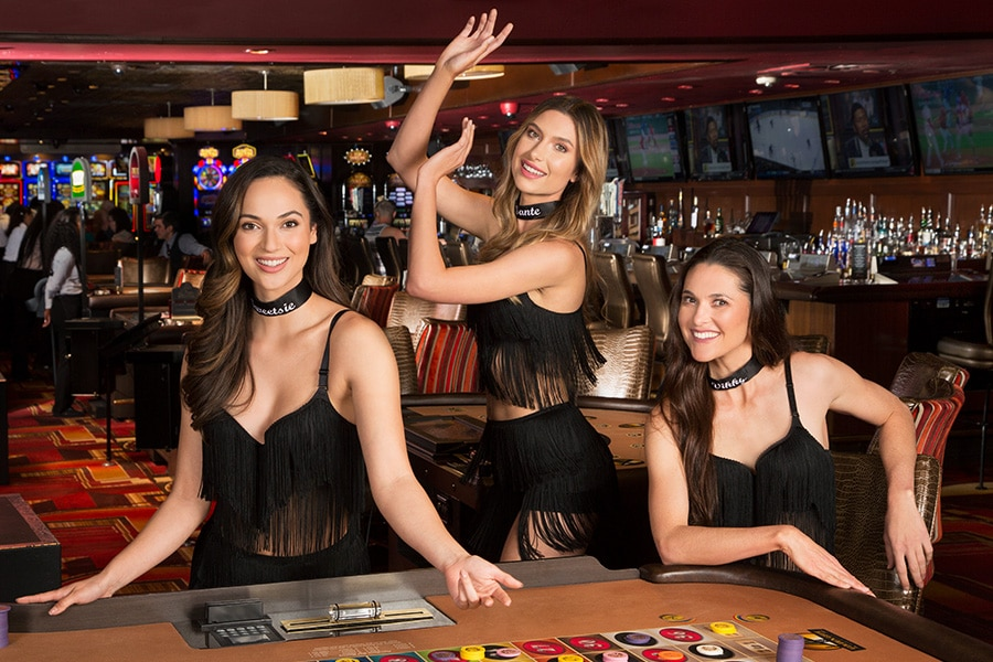 Golden Gate Casino Dancing Dealers captured by professional photographers Square Shooting