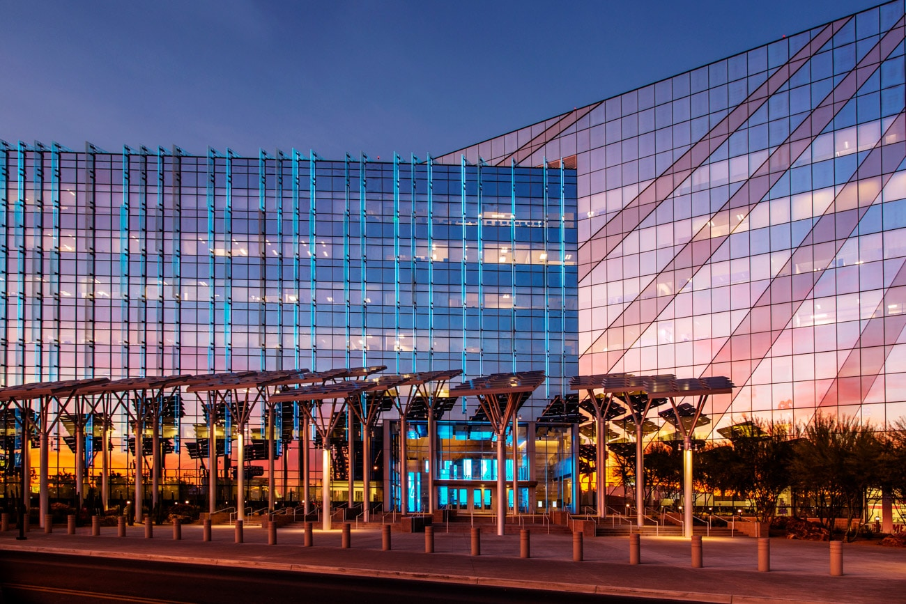 Architecture Photography in Las Vegas City Hall