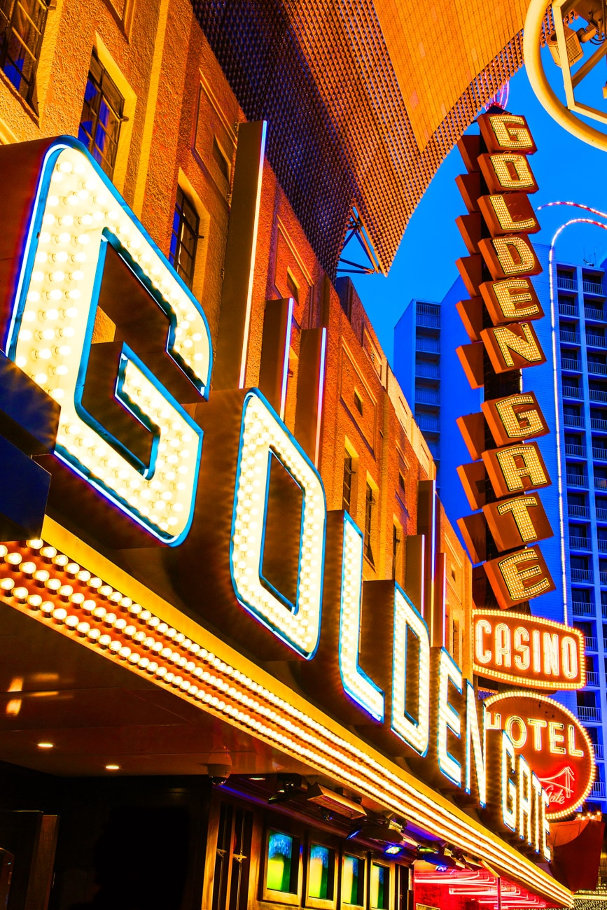 Architecture Photography in Las Vegas Golden Gate