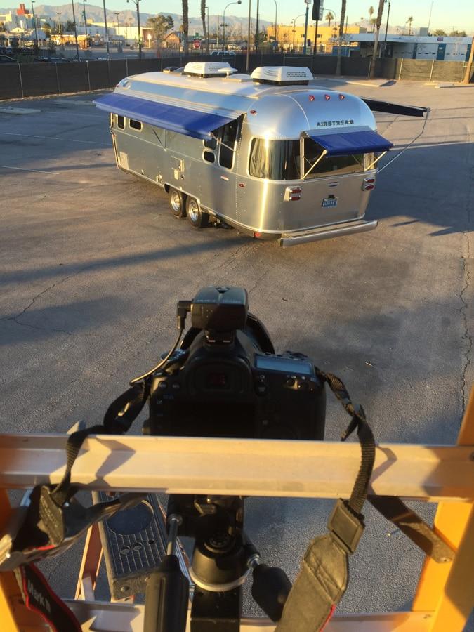 Airstream2Go Airstream Square Shooting