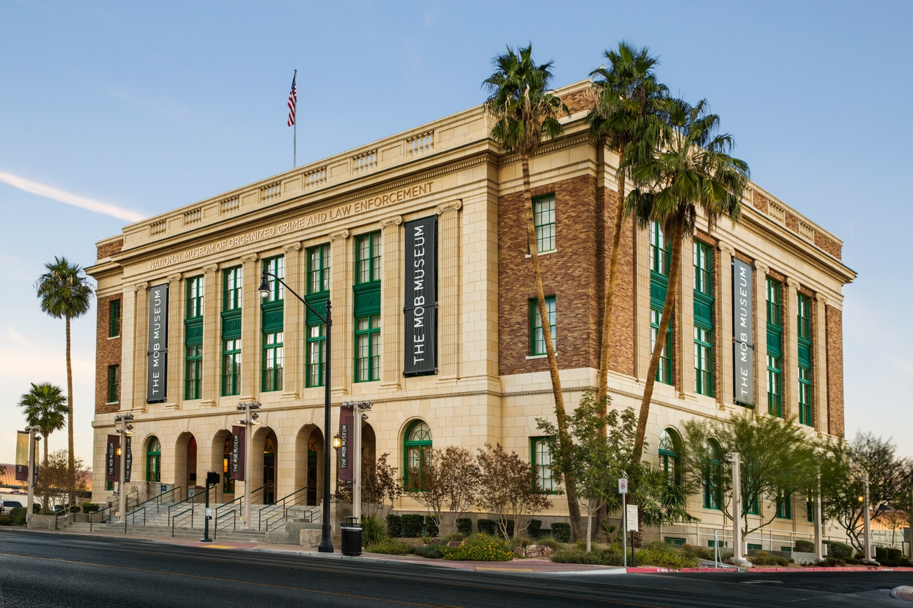 Architecture Photography in Las Vegas The Mob Museum